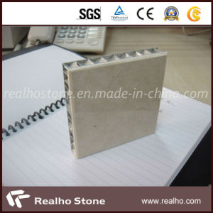 High Quality Hammer Beige Cream Marble Composite Panel/Tile