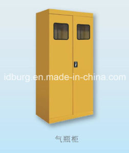 Gas Cylinder Cabinet for 3 Gas Cylinders Lab Equipment (GCC-3)