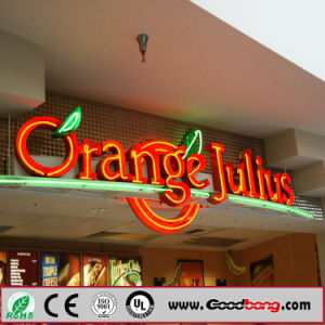 New Fashion Best Quality Glowing Red Lighting Outdoor Signage pictures & photos
