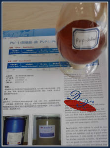 Pvp Iodine Pharmaceutical Raw Materials USP pictures & photos