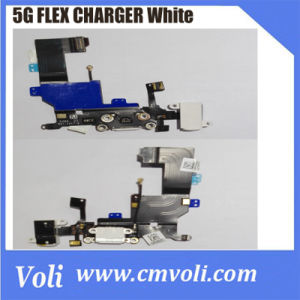 For iPhone 5G Charger Dock Connector Flex Cable White pictures & photos