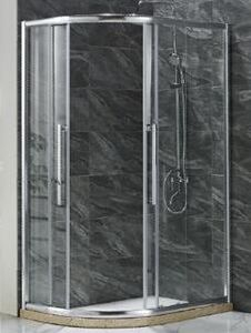 Simple Shower Enclosure with Water Bar (E-15) pictures & photos