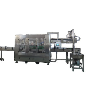 Automatic 5 Liter Bottle Washing Filling Capping Machine with Ce Certificate pictures & photos