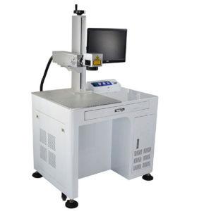20W 100*100mm-300*300mm Destop Fiber Laser Marking Machine pictures & photos