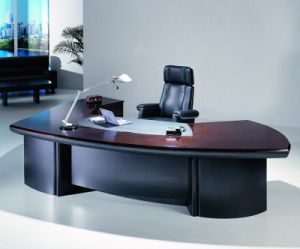 High Quality Wooden Office Executive Director Table Furniture (HF-LTA0083) pictures & photos
