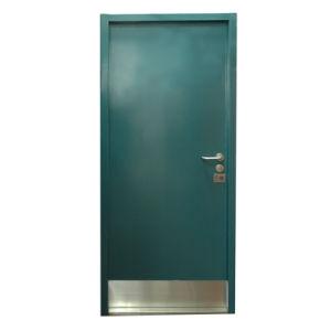Steel Fireproof Hospital Door with Skirtboard