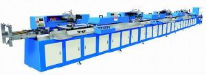 Label Ribbons Automatic Screen Printing Machine with Ce Approved pictures & photos