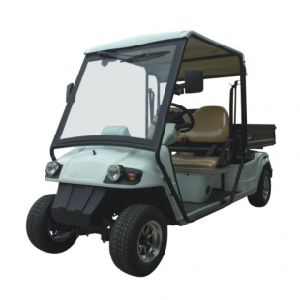 Electric Street Legal Golf Cart, 2 Seats with Long Box pictures & photos