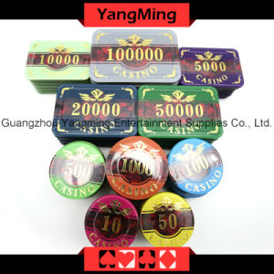Acrylic Poker Chip Set 760PCS (YM-FOCP004) pictures & photos