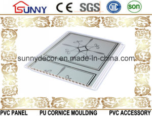 2016 Hot Stamping PVC Ceiling, PVC Panel, Building Materials Ceiling Tiles pictures & photos