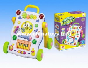 Electrical Toys, Plastic Baby Musical Handcart Toy (0646175) pictures & photos