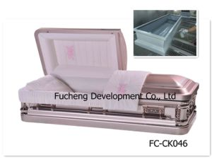 18ga American Style Metal Casket with Good Quality (FC-CK046) pictures & photos