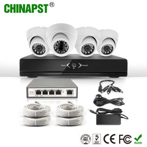 2017 4CH Indoor Dome Poe IP Camera with NVR Kit (PST-IPK04A) pictures & photos
