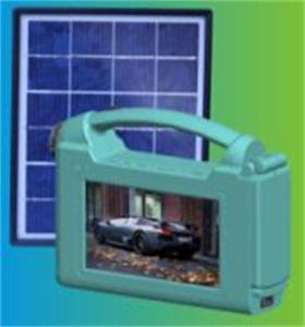 Simple and Portable Solar TV (SZYL-STV-709) pictures & photos