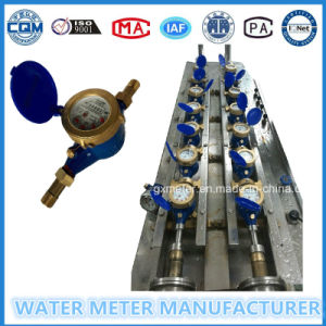 Iron Multi-Jet Dry Dial Type Water Meter of Dn15-25mm pictures & photos
