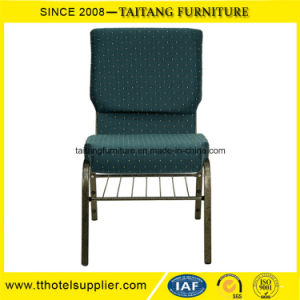 High Quality Stacking Padded Church Pew Chair pictures & photos