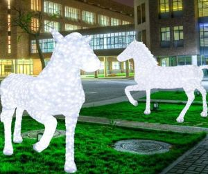 2016 New Arrival Mall Decoration Horse Light with Ce RoHS Approved pictures & photos