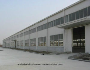 Prefabricated Light Steel Frame for Workshop, Warehouse, Shed pictures & photos