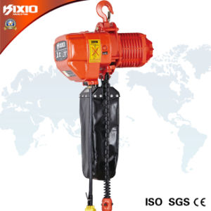 1 Ton Overload Limited Electric Chain Hoist (Hook Type) pictures & photos