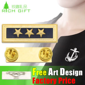 Custom Cheap Promotional Soft Enamel Metal Malaysia Pin Badge pictures & photos