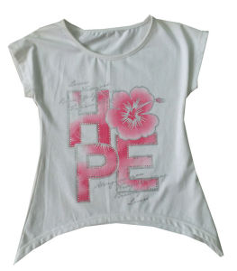Kids Children O- Neck T-Shirt with Letter Printing Sgt-021 pictures & photos