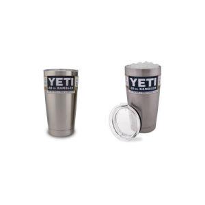 Yeti Coolers Rambler Tumbler, Silver, 20 Oz 30 Oz 12oz pictures & photos
