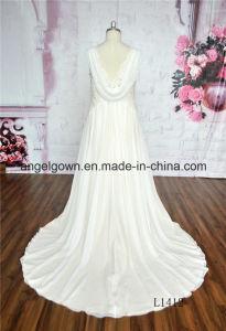 Grace Chiffon Bridal Dresses Ivory pictures & photos