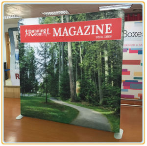 Trade Show Tension Fabric Display Straight Wall pictures & photos