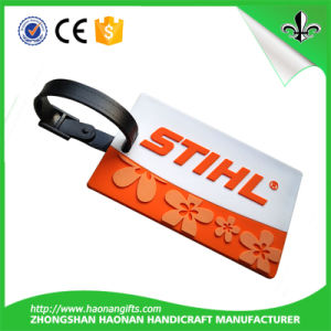 Europe Popular Colorful Leather Luggage Tag in Manufacturer Price pictures & photos
