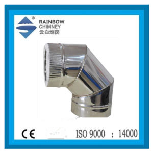 Stainless Steel Spigot Lock 90 Degree Elbow pictures & photos