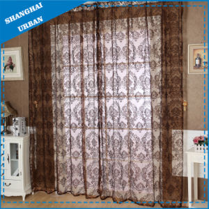 European Home Textile Tulle Window Curtain pictures & photos