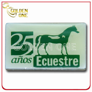 Good Design Custom Expoxy Coating Plastic Name Badge pictures & photos