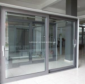 Pleasant Slimline Balcony Aluminium Sliding Doors pictures & photos