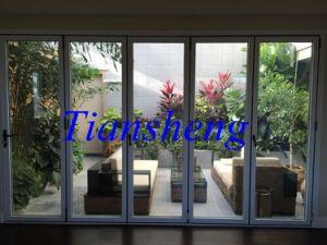 High Quality Custom Double Glazing Aluminium Bifold Door pictures & photos