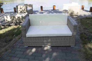 2016 New Designs Luxury Outdoor Rattan Sofa Synthetic Rattan Furniture pictures & photos