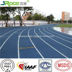 Weather Proof Polyurethane Material Outdoor Athletic Track Floor pictures & photos