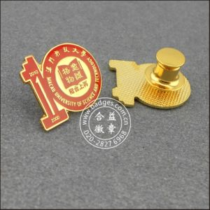 Metal Badge, Organizational Pin with Diamonds (GZHY-LP-009) pictures & photos
