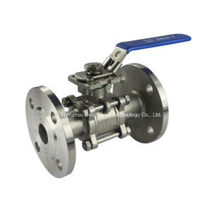 3PC ISO Vacuum Flange End Ball Valve pictures & photos