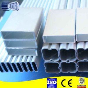White Powder Coating Aluminum Profile pictures & photos