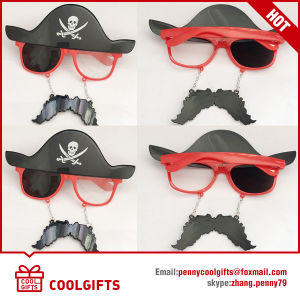 2016 New Special Sunglasses with Pirate Style for Masquerade Party pictures & photos