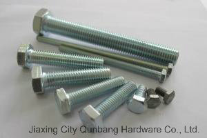 Hex Bolts (M5-M56 Cl. 4.8/6.8/8.8/10.9 DIN961 Unf Full Thread) pictures & photos