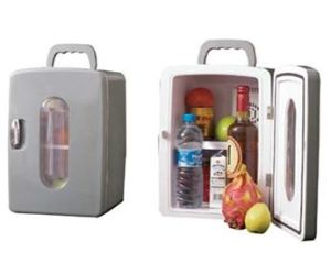 Portable Car Electronic Mini Fridge 12liter DC12V, AC100-240V in Both Cooling and Warming Function pictures & photos
