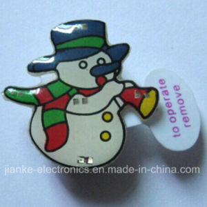 Christmas Gifts LED Lapel Pins with Logo Print (3161) pictures & photos