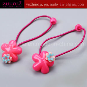 Girls Hair Jewelry Made of Plastic Flower pictures & photos