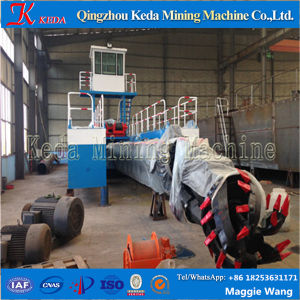 Well Structured Hydraulic Cutter Suction Dredger pictures & photos