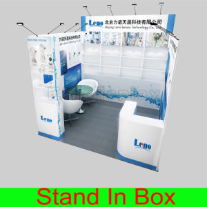 DIY Custom Aluminum Frame Portable Exhibition Stand pictures & photos