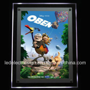Acrylic Panel Advertising for LED Light Box pictures & photos