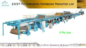 Automatic Packing 5 Ply Corrugated Cardboard Carton Machine pictures & photos