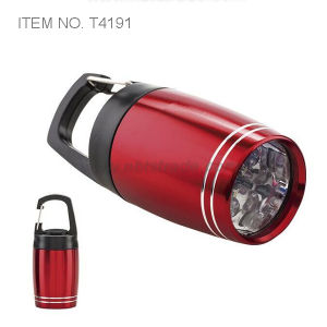 Small LED Torch with Carabiner (T4191) pictures & photos