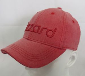 Fashion Heavy Washed Baseball Cap Stretchable Fitted Woven Cap (WB-080021)